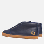 Мужские кеды Fred Perry Fletcher Carbon Blue фото- 2