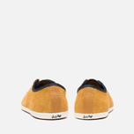 Мужские кеды Fred Perry Hayes Unlined Suede Dark Gold фото- 3