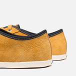 Мужские кеды Fred Perry Hayes Unlined Suede Dark Gold фото- 6