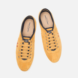 Мужские кеды Fred Perry Hayes Unlined Suede Dark Gold фото- 4