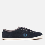 Fred Perry Hayes Unlined Suede Navy photo- 0