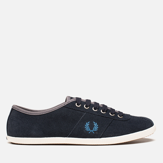 Fred Perry Hayes Unlined Suede Navy