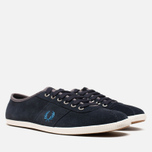 Fred Perry Hayes Unlined Suede Navy photo- 1