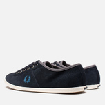 Fred Perry Hayes Unlined Suede Navy photo- 2