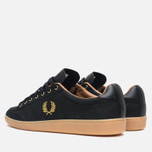 Мужские кеды Fred Perry Hopman Nubuck 1935 Black фото- 2