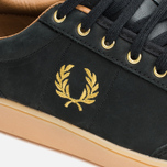Fred Perry Hopman Nubuck Plimsoles 1935 Black photo- 5