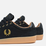 Fred Perry Hopman Nubuck Plimsoles 1935 Black photo- 7
