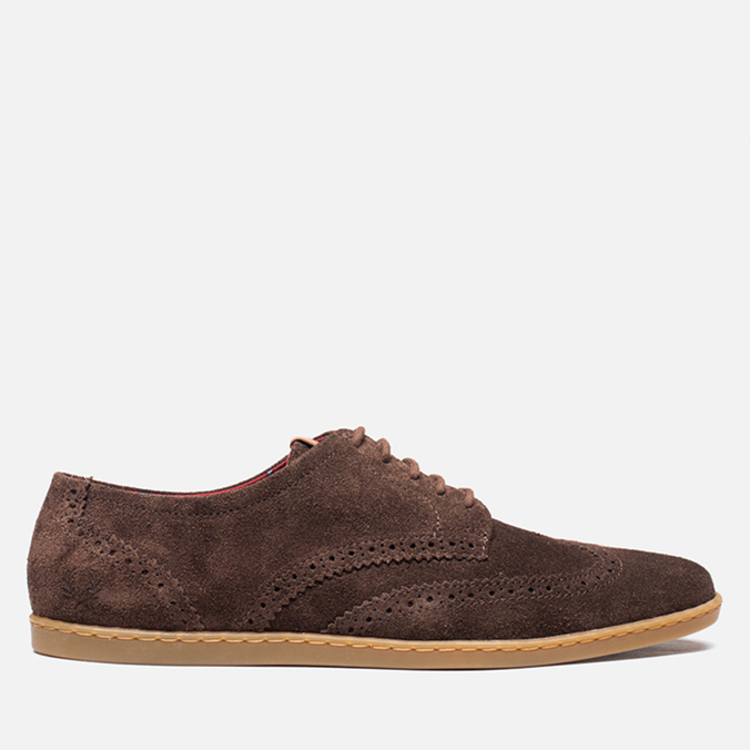 Мужские ботинки Fred Perry Jacobs Suede Dark Chocolate