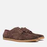 Мужские ботинки Fred Perry Jacobs Suede Dark Chocolate фото- 1
