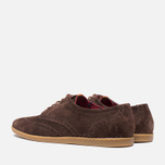 Мужские ботинки Fred Perry Jacobs Suede Dark Chocolate фото- 2