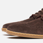 Мужские ботинки Fred Perry Jacobs Suede Dark Chocolate фото- 5