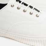 Мужские кеды Fred Perry Laurel Newstead Twill Light Ecru фото- 5