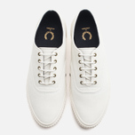 Мужские кеды Fred Perry Laurel Newstead Twill Light Ecru фото- 4