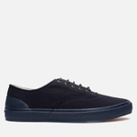 Мужские кеды Fred Perry Laurel Newstead Twill Navy фото- 0
