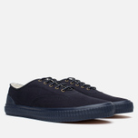 Мужские кеды Fred Perry Laurel Newstead Twill Navy фото- 1