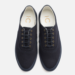 Мужские кеды Fred Perry Laurel Newstead Twill Navy фото- 4