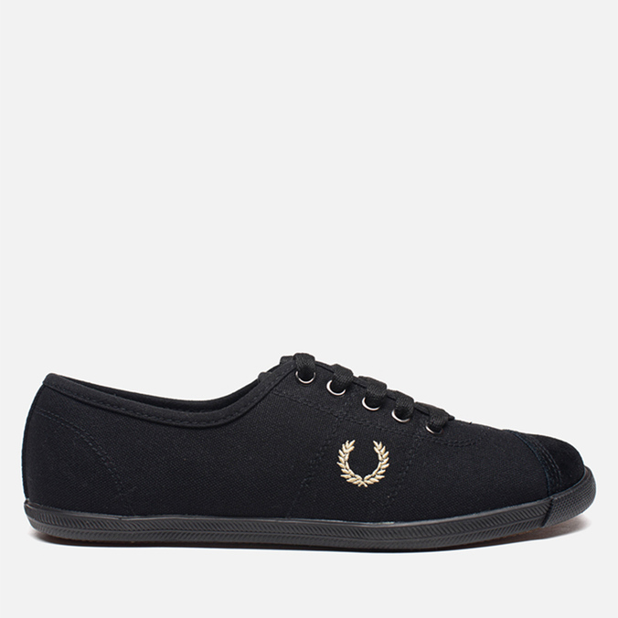 Женские кеды Fred Perry Laurel Table Tennis Canvas Black