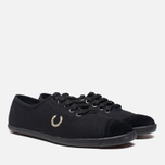 Женские кеды Fred Perry Laurel Table Tennis Canvas Black фото- 1