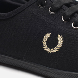 Женские кеды Fred Perry Laurel Table Tennis Canvas Black фото- 7