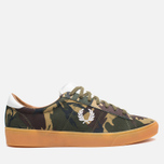 Мужские кеды Fred Perry Spencer Camo Canvas British Olive фото- 0