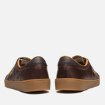 Fred Perry Spencer Plimsoles Dark Chocolate photo- 3
