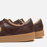 Fred Perry Spencer Plimsoles Dark Chocolate photo- 6