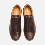 Fred Perry Spencer Plimsoles Dark Chocolate photo- 4