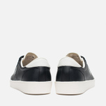 Fred Perry Spencer Leather Men's Plimsoles Black photo- 3