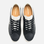 Fred Perry Spencer Leather Men's Plimsoles Black photo- 4