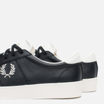Fred Perry Spencer Leather Men's Plimsoles Black photo- 7