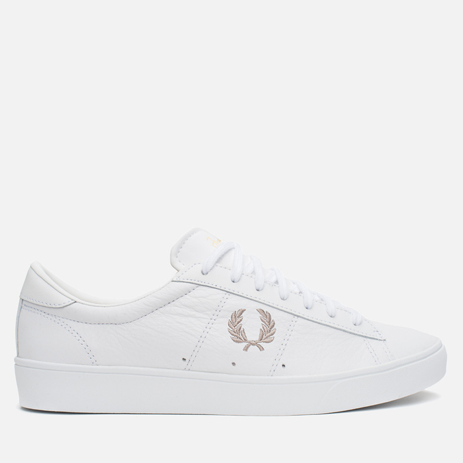 Мужские кеды Fred Perry Spencer Leather White