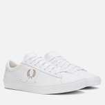 Мужские кеды Fred Perry Spencer Leather White фото- 1