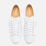 Мужские кеды Fred Perry Spencer Leather White фото- 4