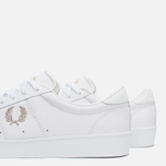 Мужские кеды Fred Perry Spencer Leather White фото- 7