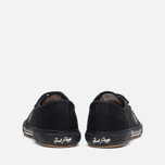 Fred Perry Vintage Tennis Canvas Men's Plimsoles Black photo- 3