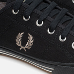 Fred Perry Vintage Tennis Canvas Men's Plimsoles Black photo- 5