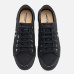 Fred Perry Vintage Tennis Canvas Men's Plimsoles Black photo- 4