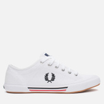 Fred Perry Vintage Tennis Canvas Men's Plimsoles White photo- 0
