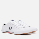 Fred Perry Vintage Tennis Canvas Men's Plimsoles White photo- 1