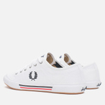 Fred Perry Vintage Tennis Canvas Men's Plimsoles White photo- 2