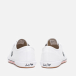 Fred Perry Vintage Tennis Canvas Men's Plimsoles White photo- 3