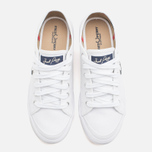 Fred Perry Vintage Tennis Canvas Men's Plimsoles White photo- 4