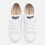 Мужские кеды Fred Perry Vintage Tennis Canvas White фото- 4