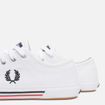 Fred Perry Vintage Tennis Canvas Men's Plimsoles White photo- 7