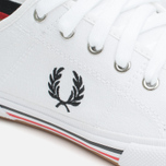 Fred Perry Vintage Tennis Canvas Men's Plimsoles White photo- 5