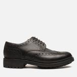 Мужские ботинки броги Grenson Archie Brogue Black фото- 0