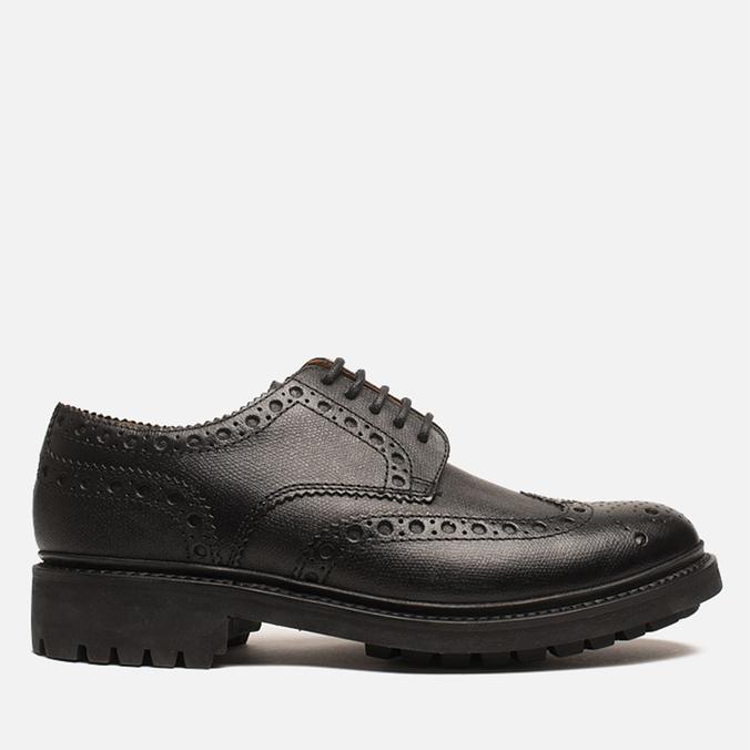 Мужские ботинки броги Grenson Archie Brogue Black