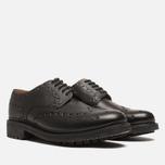 Мужские ботинки Grenson Archie Brogue Black фото- 1