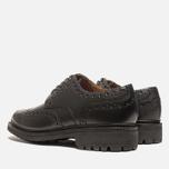 Мужские ботинки броги Grenson Archie Brogue Black фото- 2