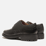 Мужские ботинки Grenson Archie Brogue Black фото- 2
